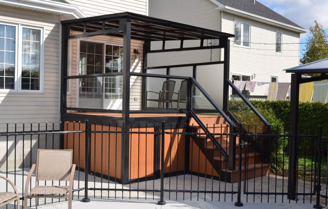 rampes escaliers  balcons aluminium lg